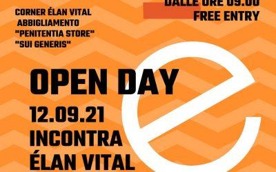 Open Day 12 Settembre